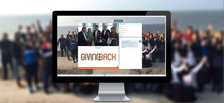 Fondation Giving Back webinaire